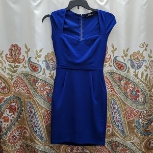 Lulu's blue cocktail dress